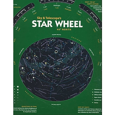 Sky & Telescope's Star Wheel 40deg North
