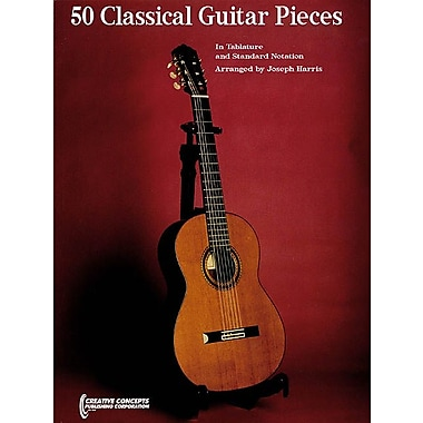 50 Classical Guitar Pieces - In Tablature and Standard Notation