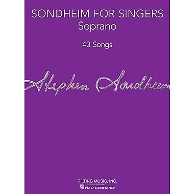 Sondheim for Singers: Soprano (43 Songs)