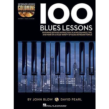 100 Blues Lessons: Keyboard Lesson Goldmine Series Book/2-CD Pack