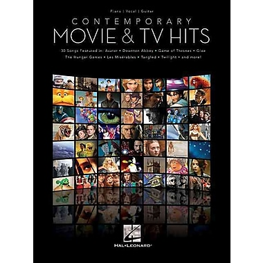 Contemporary Movie & TV Hits (Piano/Vocal/Guitar Songbook)
