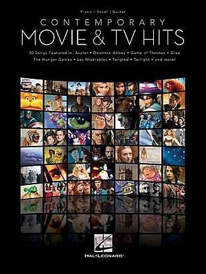 Contemporary Movie & TV Hits (Piano/Vocal/Guitar Songbook)