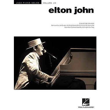 Elton John: Jazz Piano Solo Series Volume 29