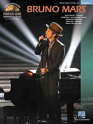 Bruno Mars: Piano Play-Along Volume 126 (Book/CD) (Hal Leonard Piano Play-Along)
