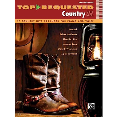 Top-Requested Country Sheet Music: 17 Country Hits Arranged for Piano and Voice (Piano/Vocal/Guitar)
