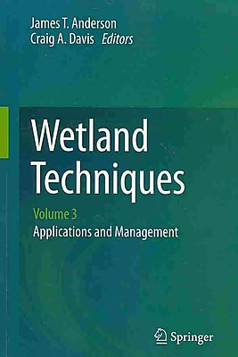 Wetland Techniques: Volume 3