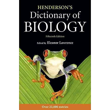 Henderson's Dictionary of Biology