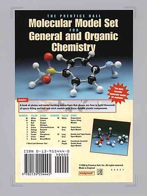 Molecular Model Set for General and Organic Chemistry