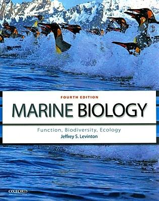 Marine Biology: Function, Biodiversity, Ecology