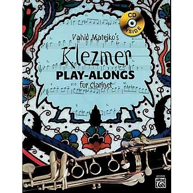Vahid Matejkos Klezmer Play-Alongs for Clarinet (Book & CD)
