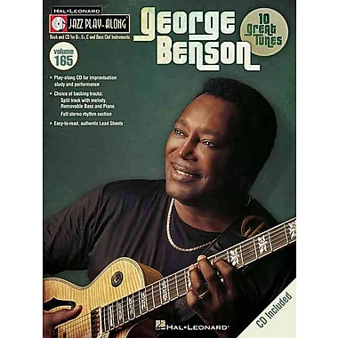George Benson - Jazz Play-Along Volume 165