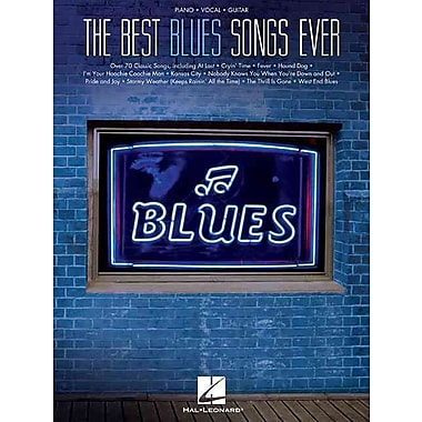 Best Blues Songs Ever (Piano/Vocal/Guitar)