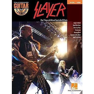 Slayer: Guitar Play-Along Volume 156 (Book/CD)