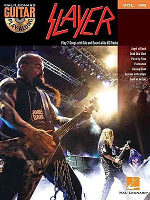 Slayer: Guitar Play-Along Volume 156 (Book/CD)