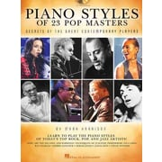 Piano Styles of 23 Pop Masters: Secrets of the Great Contemporary Players (Book/CD)