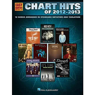 Chart Hits Of 2012-2013 (Easy Guitar with Tab) (Easy Guitar with Notes & Tab)