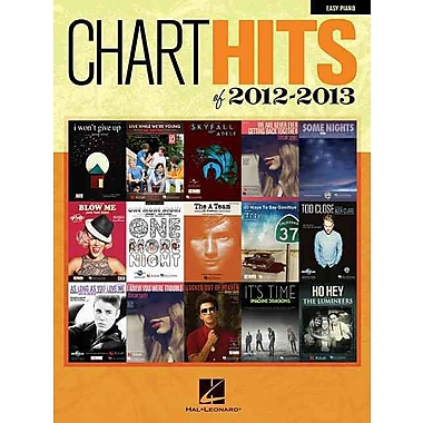 Chart Hits of 2012-2013 Easy Piano