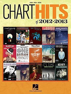 Chart Hits Of 2012-2013 (Piano/Vocal/Guitar) (Chart Hits of Piano Vocal Guitar)