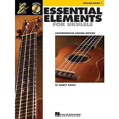 Essential Elements Ukulele Method Book 1: Comprehensive Ukulele Method (Book/CD) (Ukulele Ensemble)