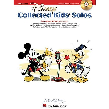 Disney Collected Kids' Solos - With Recorded Piano Accompaniments