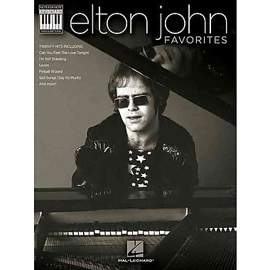 Elton John Favorites Keyboard Book - Note-For-Note Keyboard Transcriptions (Keyboard Recorded Versions)