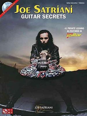 Joe Satriani Guitar Secrets - Book/CD Edition