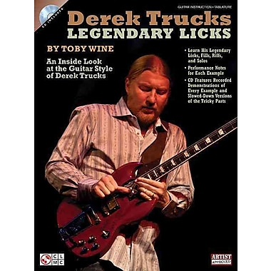 Derek Trucks Legendary Licks (Book/CD)