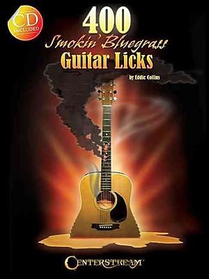 400 Smokin' Bluegrass Guitar Licks (Book/CD)