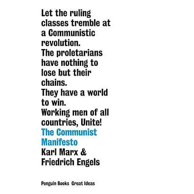 The Communist Manifesto (Penguin Great Ideas)