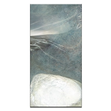 Artist Lane Light, Water #2 by Gill Cohn Framed Painting Print on Wrapped Canvas