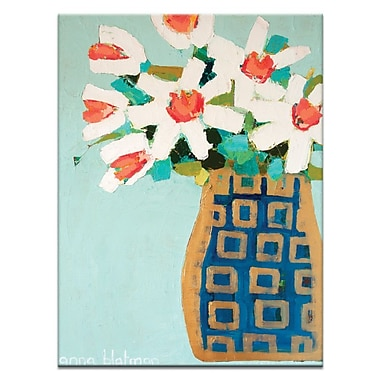 Artist Lane And Gold Pot by Anna Blatman Painting Print on Wrapped Canvas; 20'' H x 16'' W x 1.5'' D