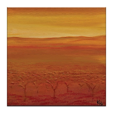 Artist Lane Autumn by Karen Hopkins Painting Print on Wrapped Canvas; 40'' H x 40'' W x 1.5'' D