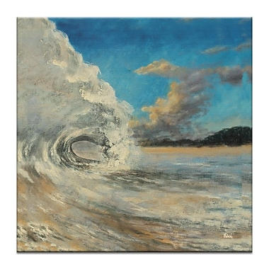 Artist Lane Wave by Jennifer Webb Painting Print on Wrapped Canvas; 40'' H x 40'' W x 1.5'' D