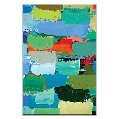 Artist Lane Spring by Anna Blatman Painting Print on Wrapped Canvas; 30'' H x 20'' W x 1.5'' D