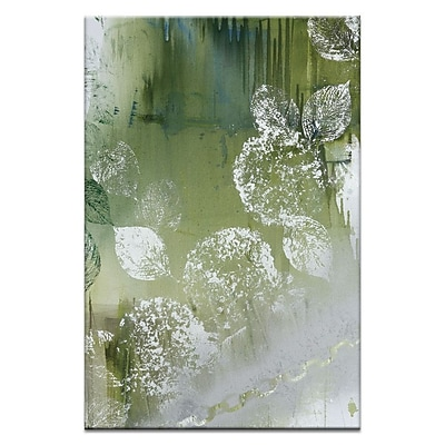 Artist Lane Hydrangea Green by Sally Adams Framed Painting Print on Wrapped Canvas WYF078276988452
