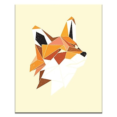 Artist Lane Faux Renard by Ayarti Framed Graphic Art on Wrapped Canvas; 18'' H x 12'' W x 1.5'' D