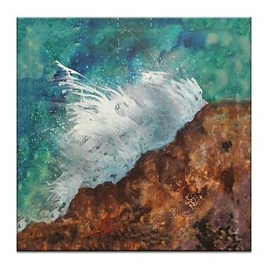Artist Lane Splash by Jennifer Webb Painting Print on Wrapped Canvas; 16'' H x 16'' W x 1.5'' D