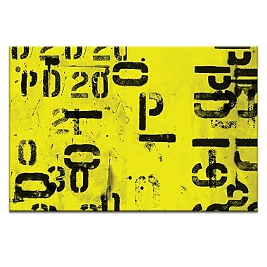 Artist Lane Code by Ayarti Graphic Art on Wrapped Canvas; 12'' H x 18'' W x 1.5'' D