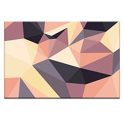 Artist Lane Shard Sunset by Ayarti Framed Graphic Art on Wrapped Canvas; 12'' H x 18'' W x 1.5'' D