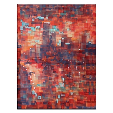 Artist Lane Summer Evening Southbank by Jennifer Webb Painting Print on Wrapped Canvas