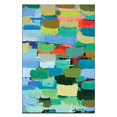 Artist Lane Winter by Anna Blatman Painting Print on Wrapped Canvas; 30'' H x 20'' W x 1.5'' D