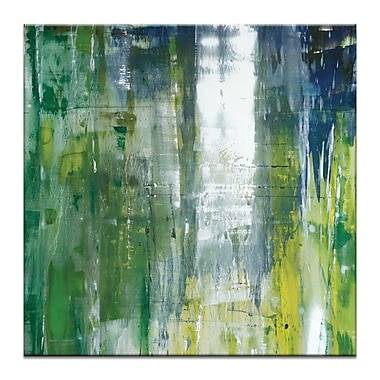 Artist Lane 'The Forest' by Sally Adams Painting Print on Wrapped Canvas; 16'' H x 16'' W x 1.5'' D