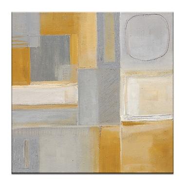 Artist Lane ''50'S-2'' by Karen Hopkins Framed Painting Print on Wrapped Canvas