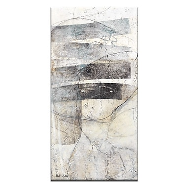 Artist Lane Thinking by Gill Cohn Painting Print on Wrapped Canvas; 60'' H x 20'' W x 1.5'' D