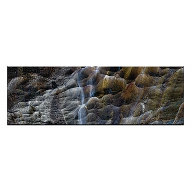Artist Lane Evolving Textures by Andrew Brown Framed Photographic Print on Wrapped Canvas
