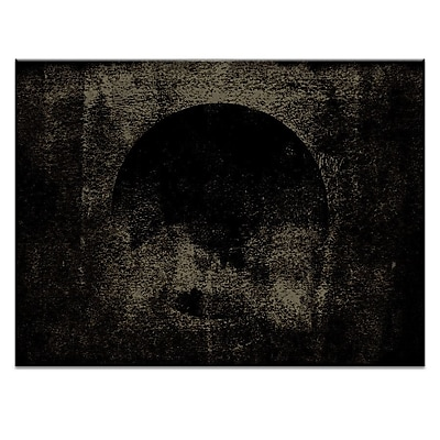 Artist Lane Sphere Black by Ayarti Framed Graphic Art on Wrapped Canvas; 16'' H x 20'' W x 1.5'' D