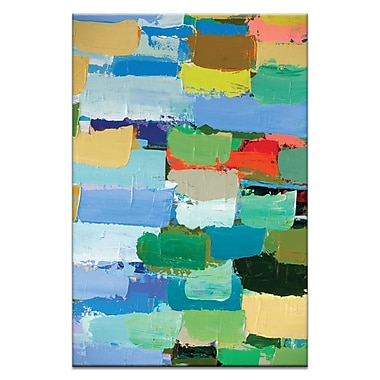Artist Lane Autumn by Anna Blatman Painting Print on Wrapped Canvas; 60'' H x 40'' W x 1.5'' D