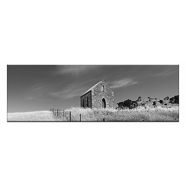 Artist Lane Golden Mass by Andrew Brown Framed Photographic Print on Wrapped Canvas in Gray