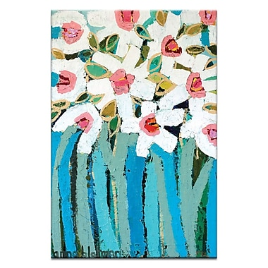 Artist Lane Stems by Anna Blatman Painting Print on Wrapped Canvas; 18'' H x 12'' W x 1.5'' D
