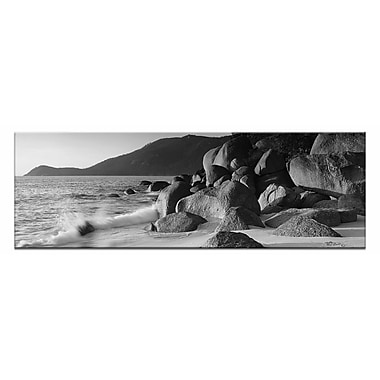 Artist Lane Prom Rocks, Wilsons Prom by Andrew Brown Photographic Print on Canvas in Black